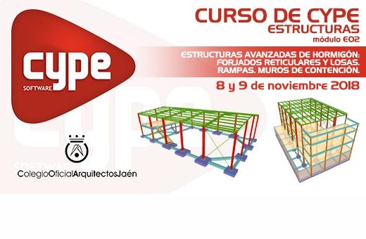 Cursos de Cype. Estructuras. Módulo E02