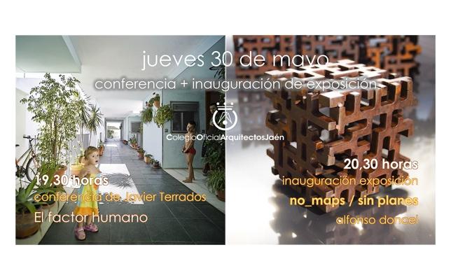 Conferencia por Javier Terrados e inauguración de la exposición de Alfonso Doncel.