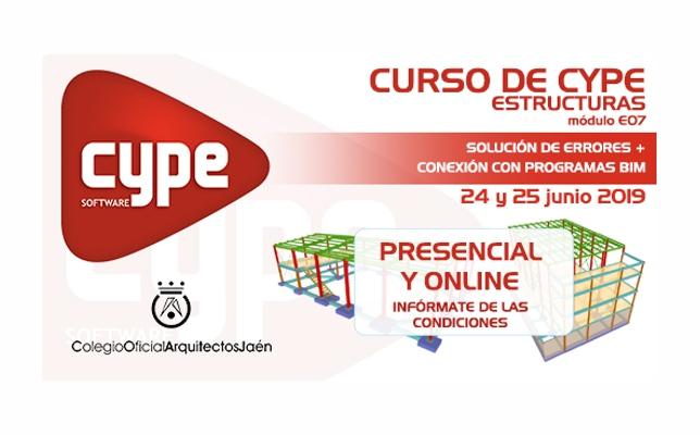 Curso de CYPE Estructuras Módulo E07