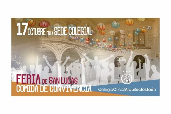 Feria de San Lucas 2019, comida de convivencia.