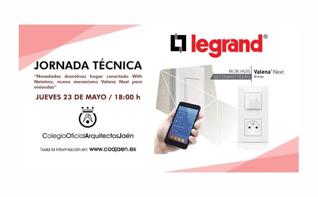 Jornada Técnica con Legrand Group España, S.L.