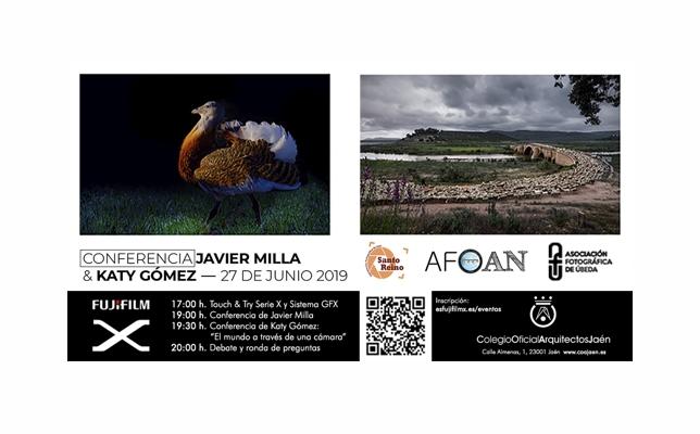Test de equipos Fujifilm, Serie X y Sistema GFX y Conferencias, con FujifilmX España.
