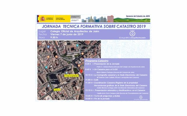 Jornada Técnica Formativa sobre Catastro 2019