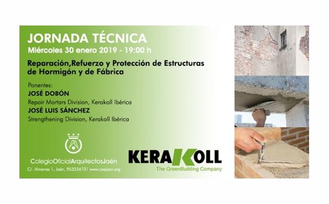 Jornada Técnica 'Reparación, Refuerzo y Protección de Estructuras de Hormigón y de Fábrica'