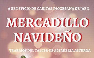 Mercadillo Navideño 'Trabajos del Taller de Alfarería Alverna'.