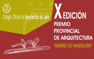 Exposición del X Premio Provincial de Arquitectura y Urbanismo «Andrés de Vandelvira»