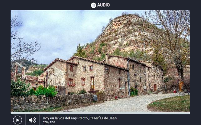 La Voz del Arquitecto 'Red de Caserías de Jaén' (12/01/2021)