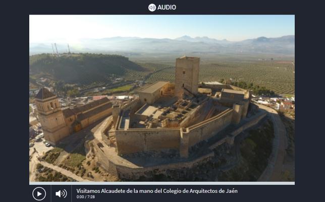 La Voz del Arquitecto 'Un paseo por el patrimonio y el paisaje urbano de Alcaudete' (13/07/2021)